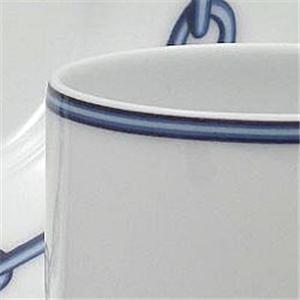 Hermes(エルメス) シェーヌダンクルブルー コーヒーC&Sペア 2717画像4