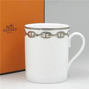 Hermes(エルメス) シェーヌダンクルPT マグカップ 4134 - 拡大画像