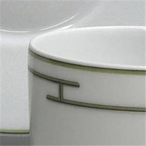 Hermes(エルメス) リズムグリーン ティーC&Sペア 4316画像4