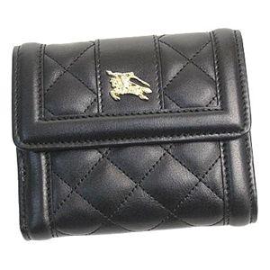 バーバリー 財布 CRED COIN QUL93299 Wホック BK
