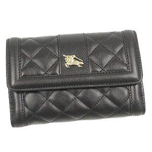 バーバリー 財布 CRED PURS93299 Wホック BK