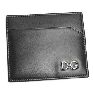 Dolce&Gabbana(ドルチェ&ガッバーナ) 定期入れ BP0450 テイキイレ BK 80999 ブラック - 拡大画像