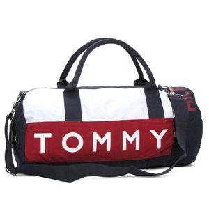 TOMMY HILFIGER(トミーヒルフィガー) ボストンバッグ 390532 HARB.POINT BT RDNV レッド/ネイビー - 拡大画像