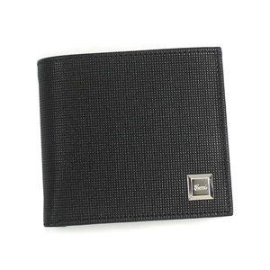 GUCCI(グッチ)二つ折り財布(小銭入れ付) 203621 BS00N 1000 ブラック - 拡大画像