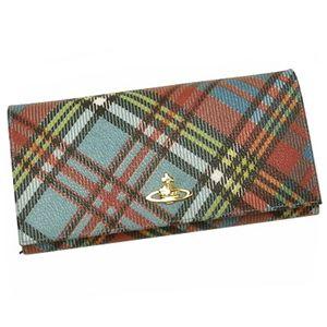 Vivienne Westwood(ヴィヴィアン ウエストウッド) 長札財布 DERBY 1032 ブルー