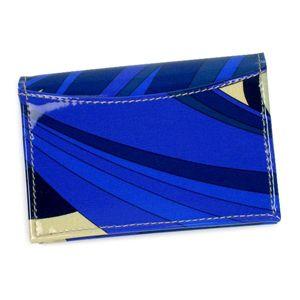 Emilio Pucci(エミリオプッチ) カードケース 96SE02 ブルーの写真3