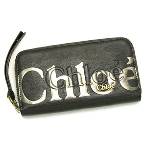CHLOE(クロエ) 長財布 ECLIPSE 8AP530 LONG ZIPPED WALET LEAD - 拡大画像