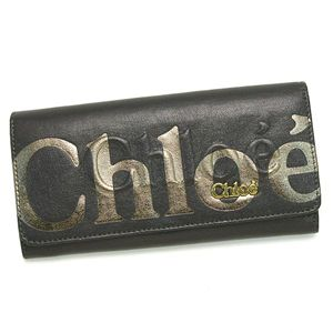 CHLOE(クロエ) 長財布 ECLIPSE 3PO303 LONG WALLET WITH FLAP LEAD - 拡大画像
