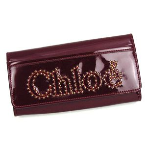 CHLOE(クロエ) 長財布 NOVA 3PO452 LONG WALLET WITH FLAP RUBY - 拡大画像