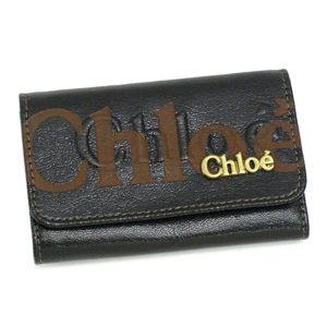 Chloe(クロエ) キーケース 3PO304 8A849 6-KEY HOLDER ブラック - 拡大画像