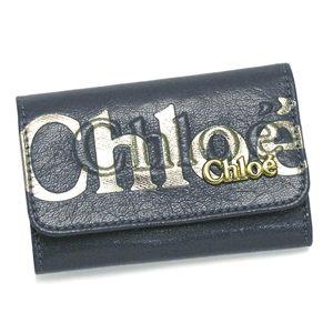 Chloe(クロエ) キーケース 3PO304 8A849 6-KEY HOLDER スモーキーブルー - 拡大画像