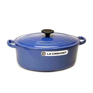 Le Creuset(ル クルーゼ)ココットオーバル25cm(3.2L)2502-25 ブルー