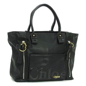 Chloe(クロエ) トートバッグ 8AS527 ブラック - 拡大画像