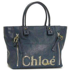 Chloe(クロエ) トートバッグ 8AS527 8A849 MEDIUM SHOPPING BAG スモーキーブルー - 拡大画像