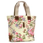 Cath Kidston(キャス キッドソン) トートバッグ 244701 TALL TOTE W/LEATH - TEFLON