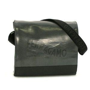 Ferragamo(フェラガモ) ナナメガケバッグ 247269 RUSH ブラック - 拡大画像