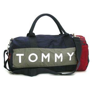 TOMMY HILFIGER ボストンバッグ 390532 ダークグレー
