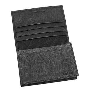 Calvin Klein (カルバン・クライン) 名刺入れ 79218 BUSINESS CARD CASE ブラックの写真2