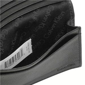 Calvin Klein (カルバン・クライン) 名刺入れ 79218 BUSINESS CARD CASE ブラックの写真3