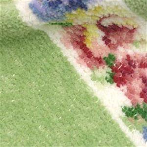 Feiler (フェイラー) タオル AIDA WHITE PISTACHIO wash cloth 25/25 ピスタチオの写真2