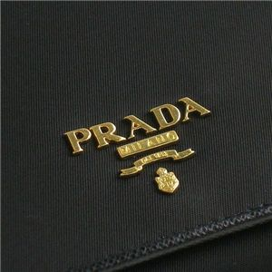 PRADA(プラダ) 長札財布 TES+SAF COLOR 1M1132 TES SAFFIANO ブラック画像4