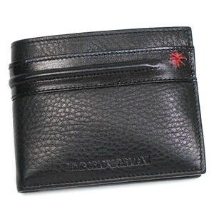 Emporio Armani(エンポリオ・アルマーニ) 二つ折り財布(小銭入れ付) YCD20 YEM772 80001 ブラック