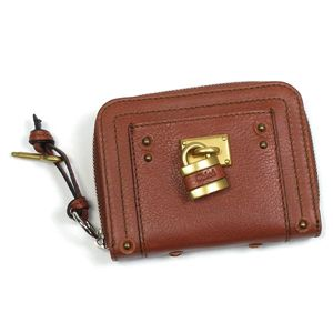 Chloe(クロエ) 二つ折り財布(小銭入れ付) PADDINGTON 7EPM09 365 ライトブラウン - 拡大画像