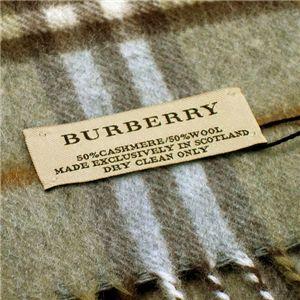 Burberry(バーバリー) マフラー 94267 3160 カーキー