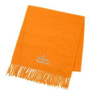 Vivienne Westwood(ヴィヴィアンウエストウッド) マフラー 440682 SEO/F282 17 ライトオレンジ