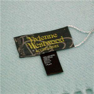 Vivienne Westwood(ヴィヴィアンウエストウッド) マフラー 440682 SEO/F282 6 ライトブルー