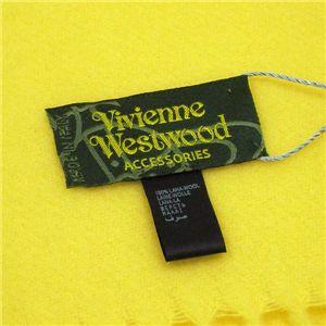 Vivienne Westwood(ヴィヴィアンウエストウッド) マフラー 440682 SEO/F282 13 イエロー
