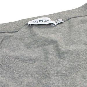 SEE BY CHLOE(シーバイクロエ) Tシャツ 487407 C022 グレー 38