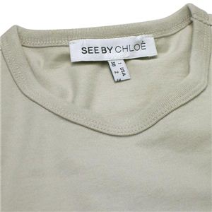 SEE BY CHLOE(シーバイクロエ) カットソー L461144 SHIRT A63 グレー S