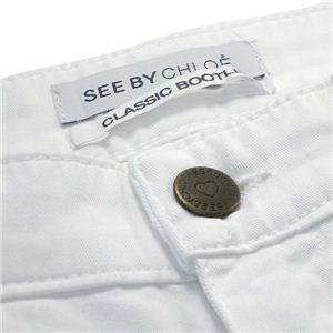 SEE BY CHLOE(シーバイクロエ) パンツ 21302 A00 ホワイト 26