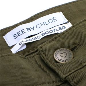 SEE BY CHLOE(シーバイクロエ) パンツ 21302 R80 カーキー 26