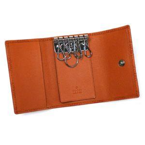 Gucci(グッチ) キーケース KEY CASE 138093 KEY CASE 7604 ダークオレンジ画像2
