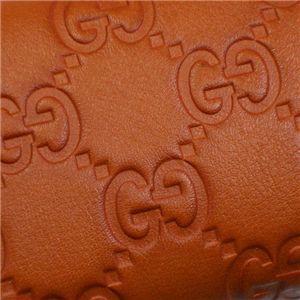 Gucci(グッチ) キーケース KEY CASE 138093 KEY CASE 7604 ダークオレンジ画像3