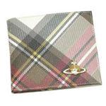 Vivienne Westwood(ヴィヴィアンウエストウッド) 二つ折り財布(小銭入れ付) DERBY 730 EXHIBITION【送料無料】