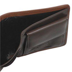 Vivienne Westwood(ヴィヴィアンウエストウッド) 二つ折り財布(小銭入れ付) STONEAGE 730 カーキーの写真3