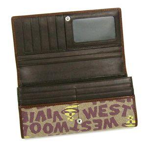 Vivienne Westwood(ヴィヴィアンウエストウッド) 長財布 STONEAGE 1032 カーキー