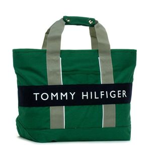 TOMMY HILFIGER トートバッグ OUTBACK L400357(L500081) TOTE 315 グリーン