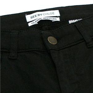 SEE BY CHLOE(シーバイクロエ) パンツ 21302 C74 ブラック 26