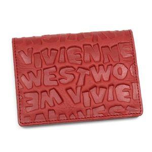 Vivienne Westwood(ヴィヴィアンウエストウッド) 定期入れ COAST 724 レッド - 拡大画像