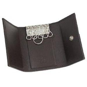Gucci(グッチ) キーケース MEN NEW BRITT 181680 BASIC KEY-CASE 9569 ベージュ/ダークブラウン
