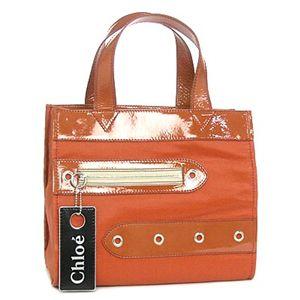 Chloe(クロエ) トートバッグ LOGO S671 397 オレンジ - 拡大画像