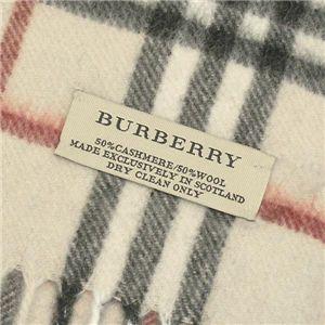 Burberry(バーバリー) マフラー 402682 CHECK SCARF 2500 ベージュ