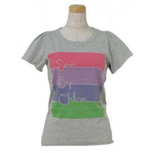 SEE BY CHLOE(シーバイクロエ) レディースTシャツ 464208 B588 グレー - 拡大画像