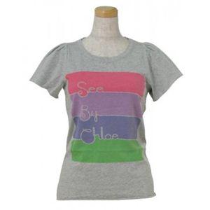 SEE BY CHLOE(シーバイクロエ) レディースTシャツ 464208 B588 グレー