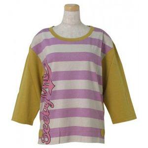 SEE BY CHLOE(シーバイクロエ) レディースTシャツ 495901 I75 パープル