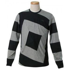 EMPORIO ARMANI(エンポリオアルマーニ) メンズTシャツ  E1M45J E16SJ 999 ブラック L66 S62 W46 SH40の写真1